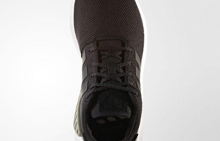 adidas NMD R2 Black Gum Textile - BY9917 03