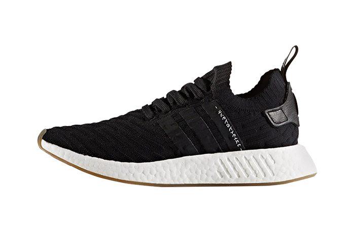 adidas NMD R2 Black Primeknit BY9696 04