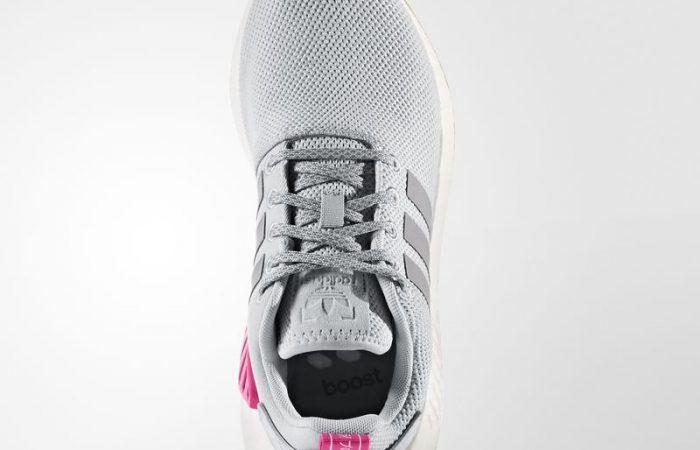 adidas NMD R2 Grey Gum Textile - BY9317 03