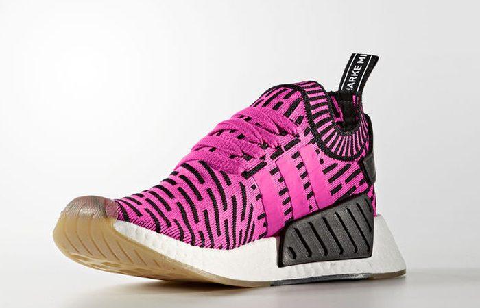 adidas NMD R2 Pink Primeknit BY9697 03