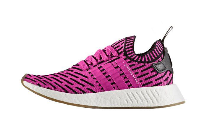 adidas NMD R2 Pink Primeknit BY9697 04