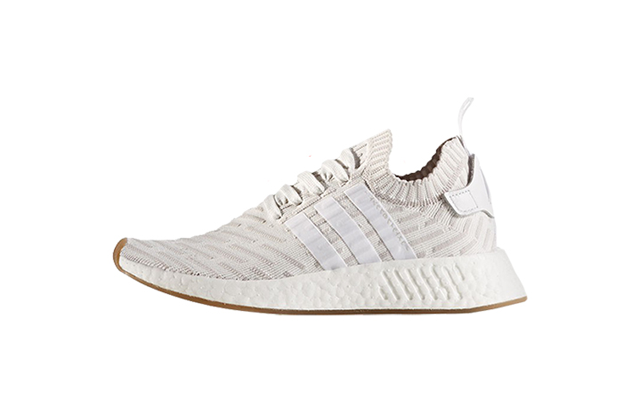 adidas NMD R2 White Pink Primeknit BY9954