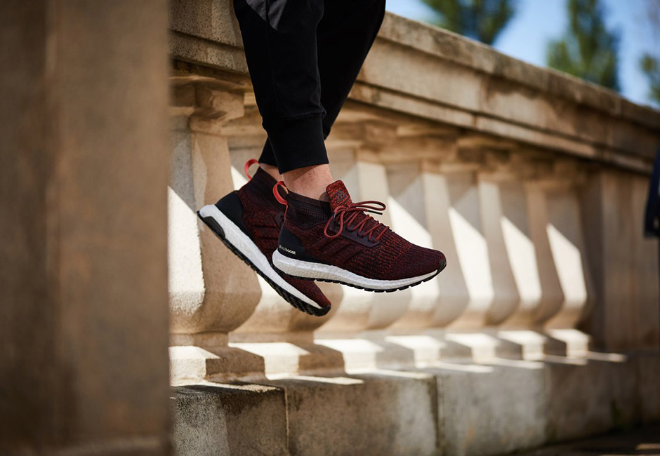 fbcfefba3d8 adidas Ultra Boost ATR Mid Burgundy S82035 Closer Look – Fastsole