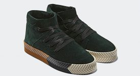Alexander Wang adidas Skate Mid Green AC6851 01