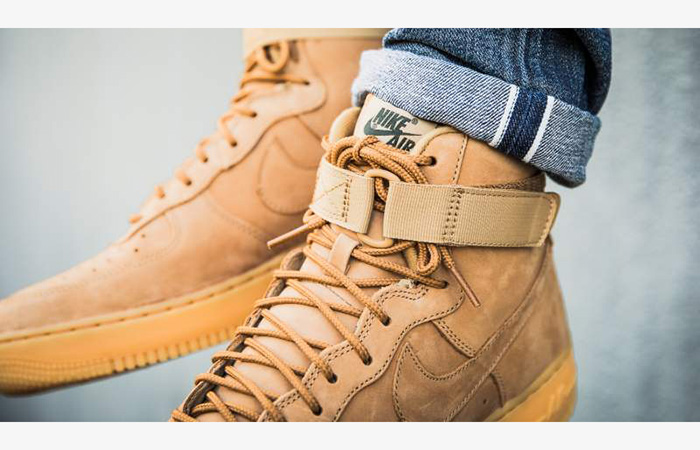 hot sale online d8916 8c7b7 Nike Air Force 1 High 07 LV8 Flax 882096-200