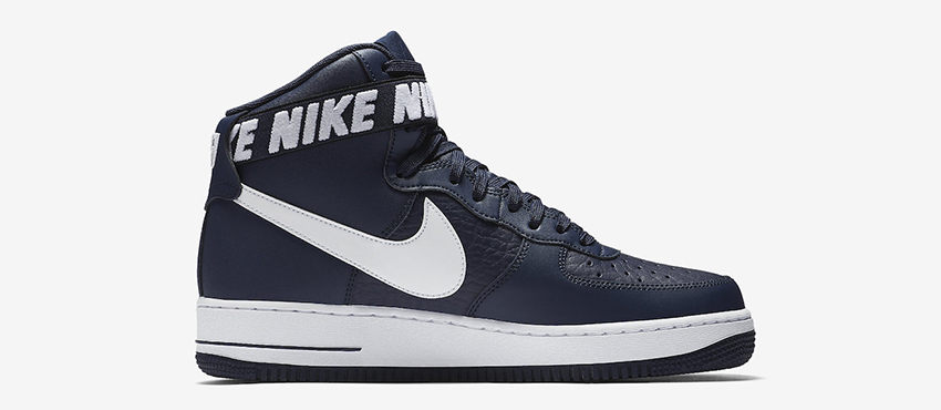 Nike Air Force 1 High Statement Game Navy First Look 01