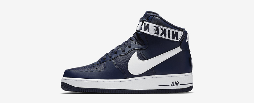 Nike Air Force 1 High Statement Game Navy First Look 02