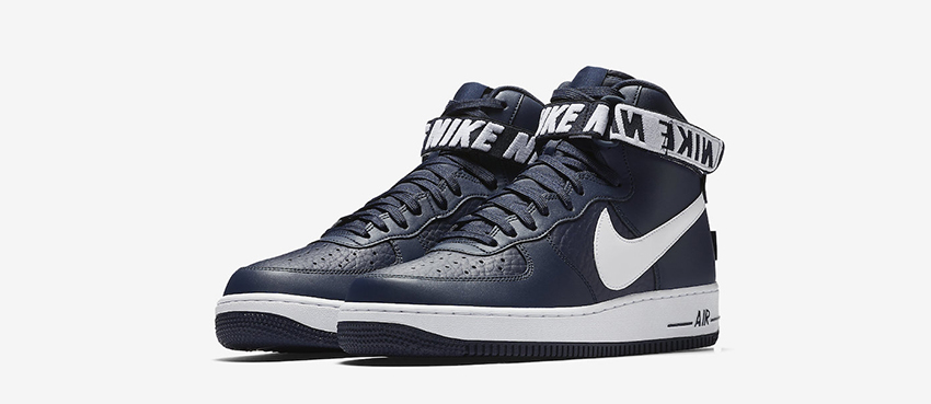 Nike Air Force 1 High Statement Game Navy First Look 05