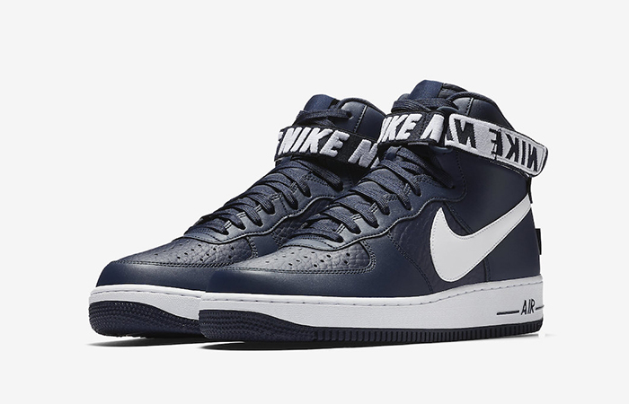 Nike Air Force 1 High Statement Game Navy First Look Feature