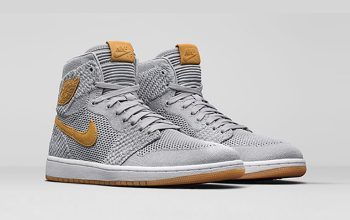 Nike Air Jordan 1 High Flyknit Wolf Grey Official Look 919704-025 Sneaker Release Date in UK EU DE FT