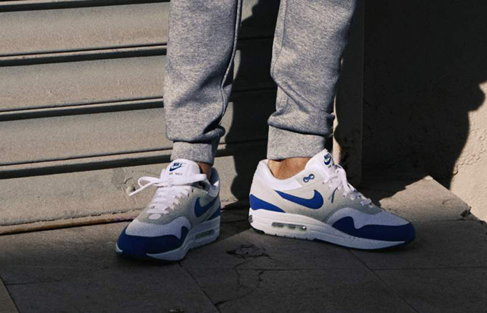 47b3905007 italy foot locker nike air max 1 anniversary royal blue 908375 102 buy new  sneakers trainers