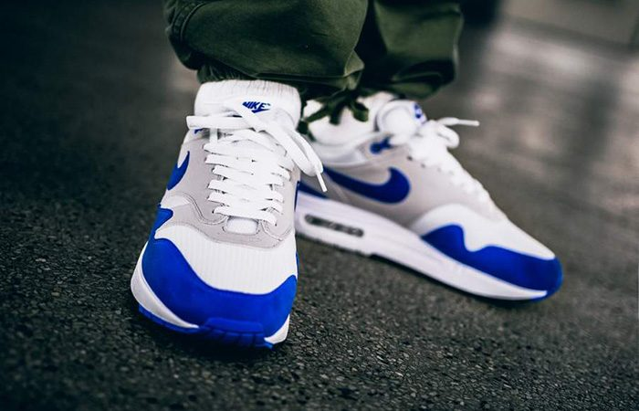 low priced 0e3f7 b7413 Nike Air Max 1 Anniversary Royal Blue – 908375-102