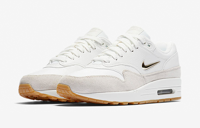 bcaa7a6fc670 ... Nike Air Max 1 Jewel White Womens AA0512-100 Buy New Sneakers Trainers  FOR Man ...