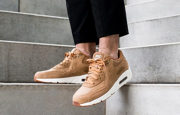 Nike Air Max 90 Ultra 2.0 Flax 924447-200 Buy New Sneakers Trainers FOR Man Women in UK Europe EU Germany DE 03