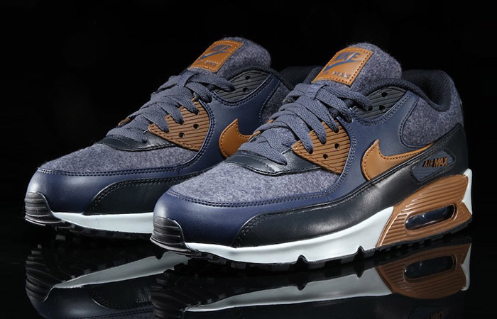 promo code 9aa0a 6dc9c Nike Air Max 90 Wool Thunder Blue 700155-404 Buy New Sneakers .