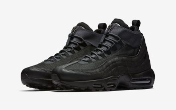 Nike Air Max 95 Sneakerboot Triple Black Official Look Feature