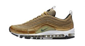 Nike Air Max 97 CR7 Gold AQ0655-700 Buy New Sneakers Trainers FOR Man Women in United Kingdom UK Europe EU Germany DE 05