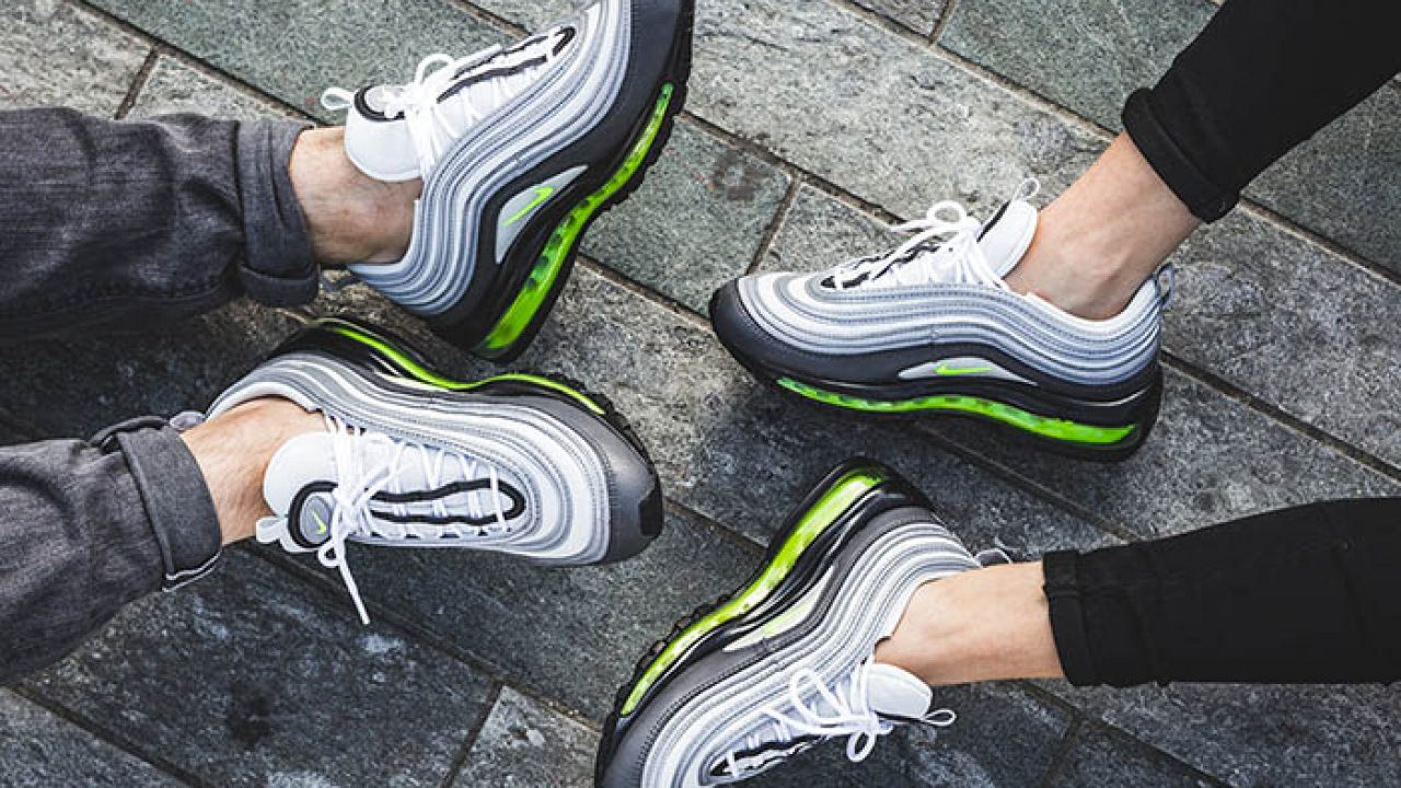 Nike Air Max 97 Neon On Foot Fastsole