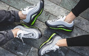 Nike Air Max 97 Neon On-Foot 921733-003 Buy New Sneakers Trainers FOR Man Women in United Kingdom UK Europe EU Germany DE Feature