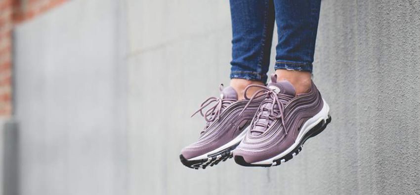 air max 97 on feet air max 97 purple