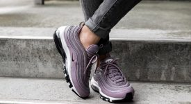 Nike Air Max 97 Taupe Grey On Foot 917646-200 Buy New Sneakers Trainers FOR Man Women in UK Europe EU Germany DE 03