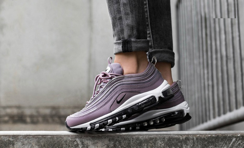 Nike Air Max 97 Taupe Grey On Foot 917646-200 Buy New Sneakers Trainers FOR Man Women in UK Europe EU Germany DE 04
