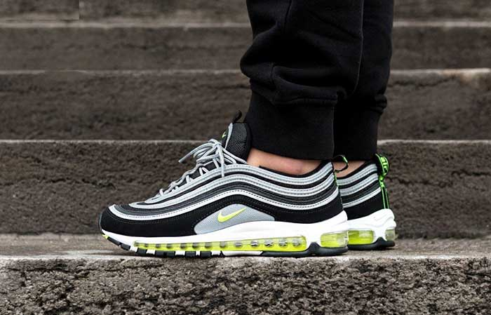 watch 9b8b3 d54e9 ... Nike Air Max 97 Volt Black 921826-004 Buy New Sneakers Trainers FOR Man  Women ...