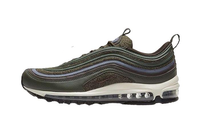 b213e0f8c3f66 Nike Air Max 97 Wool Sequoia Premium 312834-300