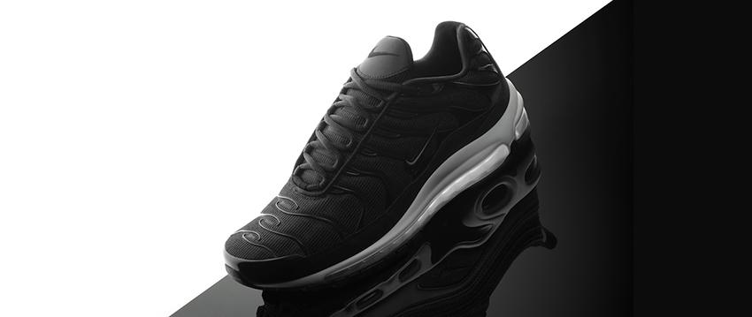 39c94f4d2d Nike Air Max Plus 97 Black White Release Date AH8144-001 01