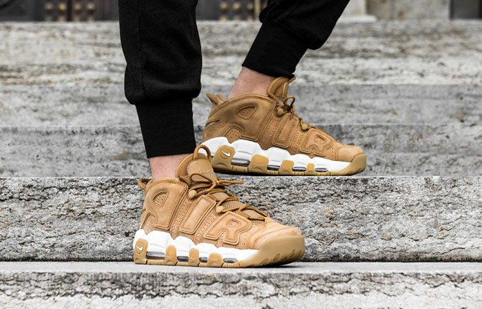 59bb7081d5 Nike Air More Uptempo Wheat Flax AA4060-200 Buy New Sneakers Trainers FOR  Man Women ...