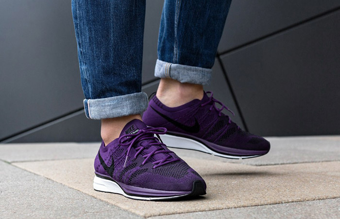 the latest c2d40 be100 ... Nike Flyknit Trainer Night Purple AH8396-500 Buy New Sneakers Trainers  FOR Man Women in ...