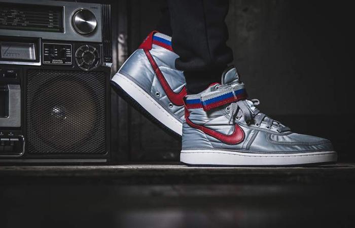 Nike Vandal High Supreme Silver Ah8652