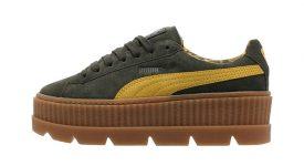 Rihanna Puma Fenty Cleated Creeper Suede Green 366268-01 Buy New Sneakers Trainers FOR Man Women in United Kingdom UK Europe EU Germany DE 05