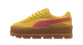 Rihanna Puma Fenty Cleated Creeper Suede Lemon 366268-03 Buy New Sneakers Trainers FOR Man Women in United Kingdom UK Europe EU Germany DE 05