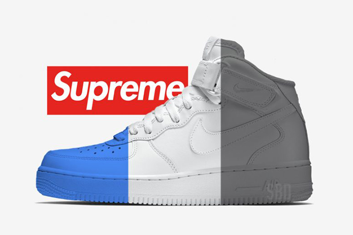 Supreme Nike Air Force 1 Mid Lineup for 2018 Buy New Sneakers Trainers FOR Man Women in United Kingdom UK Europe EU Germany DE 02
