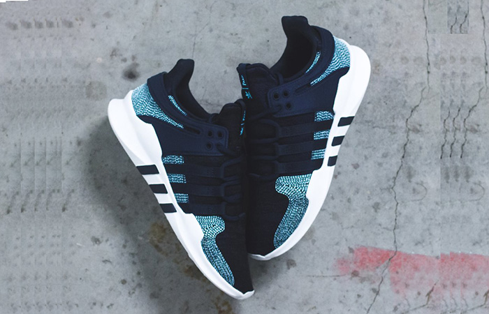 outlet store 49a46 1b29f adidas EQT Support ADV Parley Navy CQ0299