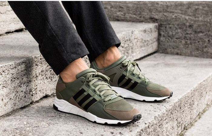 quality design 6a087 15db3 adidas EQT Support RF Green White BY9628