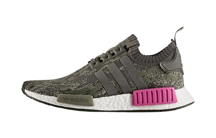 ca38df2fba79c adidas NMD R1 Primeknit Green Glitch Camo BZ0222 Buy New Sneakers Trainers  FOR Man Women in ...