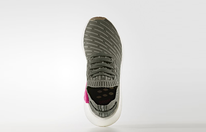 adidas NMD R2 Primeknit Green Pink BY9953 02