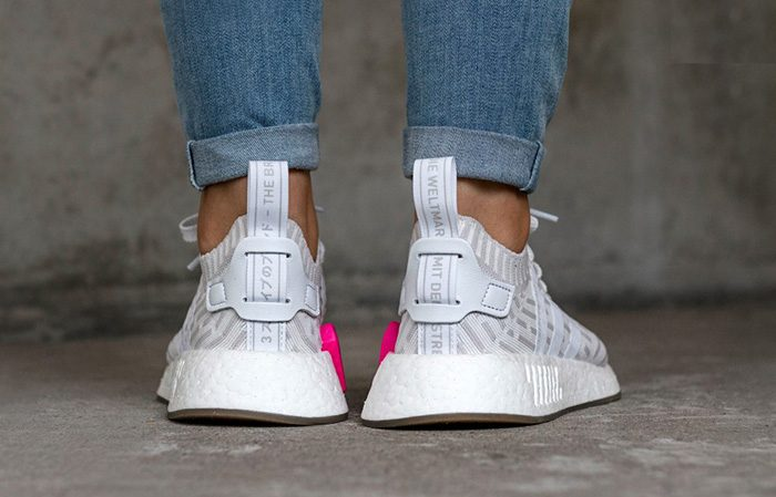 huge selection of f4c1d 1ad6b ... adidas NMD R2 White Pink Primeknit BY9954 Buy New Sneakers Trainers FOR  Man Women in United ...