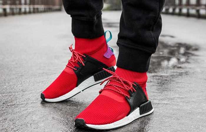 sports shoes 86de3 623e0 adidas NMD XR1 Winter Pack Scarlet BZ0632