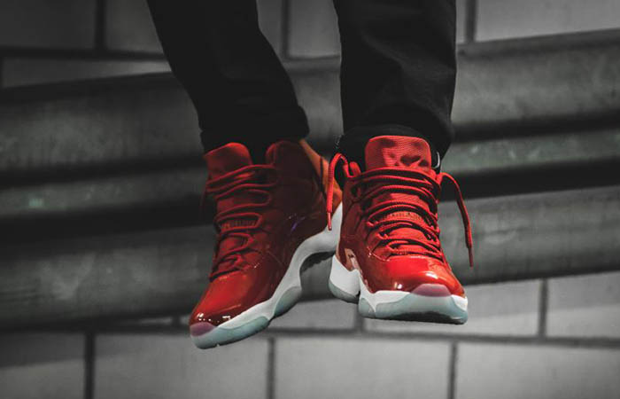 51844976f54791 ... air jordan 11 win like 96 red 378037 623 buy new sneakers trainers for  man