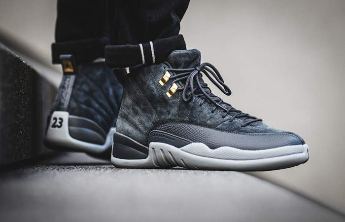 more photos aefe4 f3a72 Air Jordan 12 Grey 130690-005