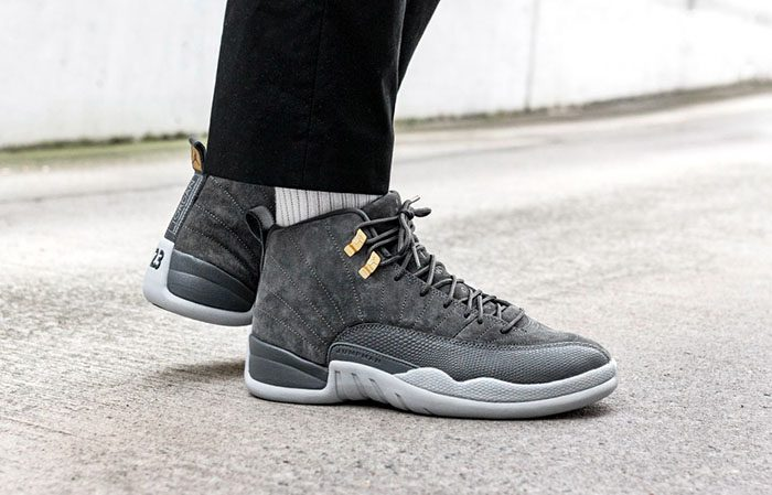 detailed look cb93b eb9c5 ... Air Jordan 12 Grey 130690-005 Buy New Sneakers Trainers FOR Man Women  in United ...