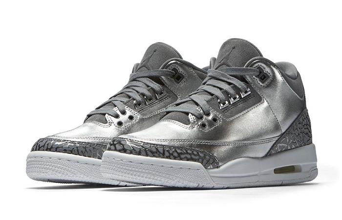 Air Jordan 3 PRM GS Chrome AA1243-020 Buy New Sneakers Trainers FOR Man Women in United Kingdom UK Europe EU Germany DE Sneaker Release Date 01