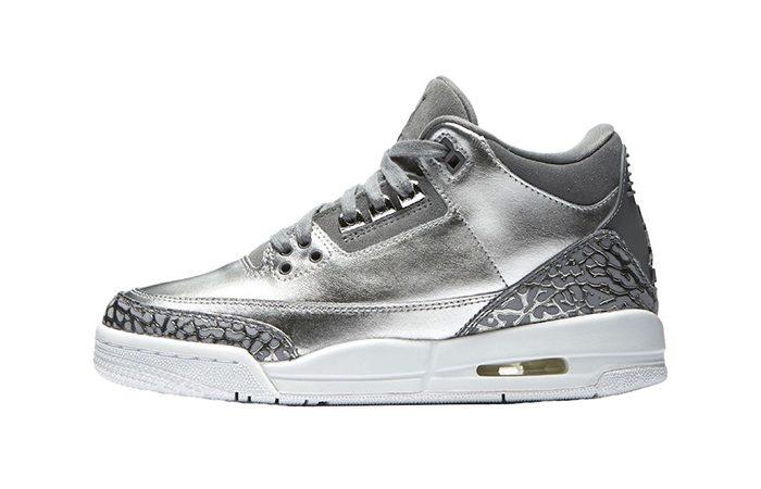 Air Jordan 3 PRM GS Chrome AA1243-020 Buy New Sneakers Trainers FOR Man Women in United Kingdom UK Europe EU Germany DE Sneaker Release Date 04