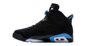 Air Jordan 6 UNC Black 384664-006 04
