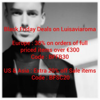Black Friday Offer Discount Coupon Sale Collection 2017 FastSole Sneaker Release Date in UK EU DE luisaviaroma.com