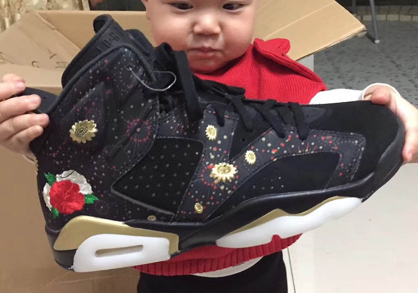 quality design cc58d bd360 First Look at the Nike Air Jordan 6 CNY AA2492-021 – Fastsole