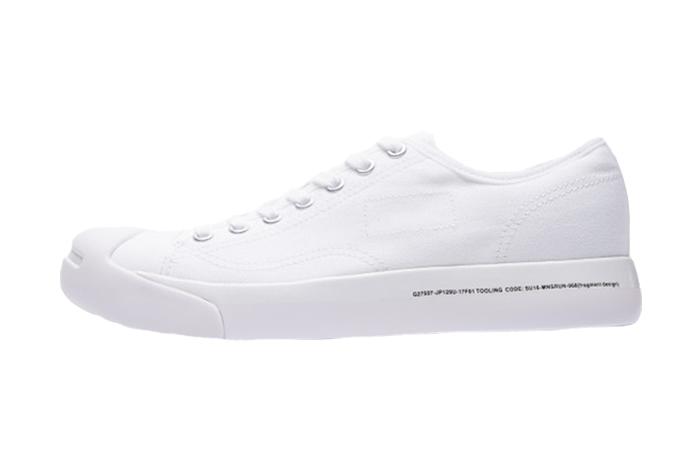 Fragment Design Converse Jack Purcell Modern White 160158C Sneakers Trainers FOR Man Women in United Kingdom UK EU DE Sneaker Release Date 02